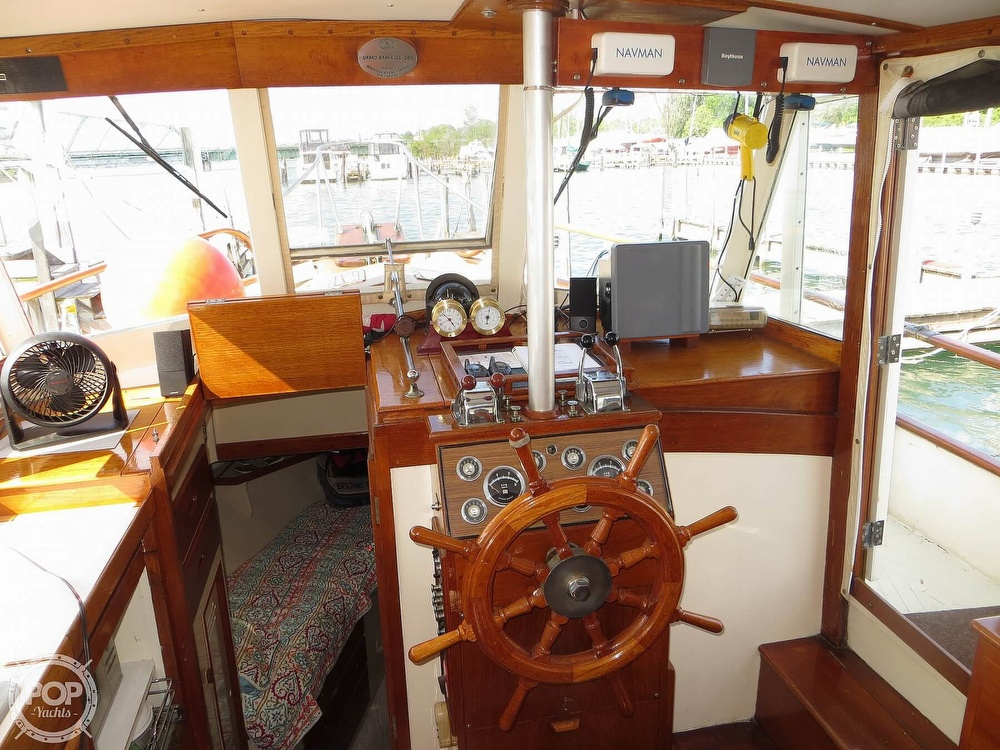 1972 Grand Banks boat for sale, model of the boat is 36 Classic & Image # 5 of 40