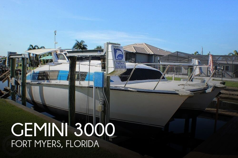 1989 Gemini boat for sale, model of the boat is 3000 & Image # 1 of 20