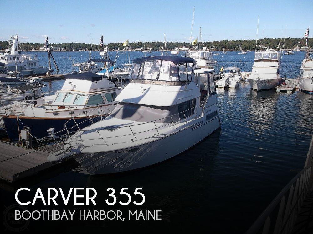 Used Carver Motoryachts For Sale by owner   1995 Carver 355