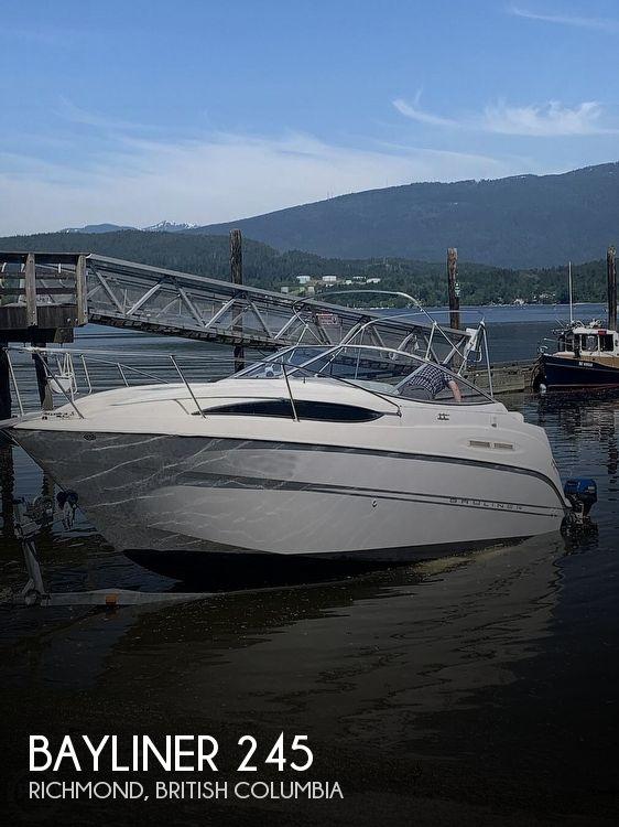 2004 Bayliner boat for sale, model of the boat is 245 Sunbridge & Image # 1 of 22