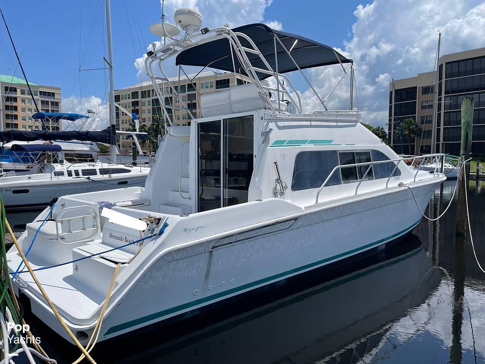 1994 Mainship boat for sale, model of the boat is 40 Sedan Bridge & Image # 2 of 40