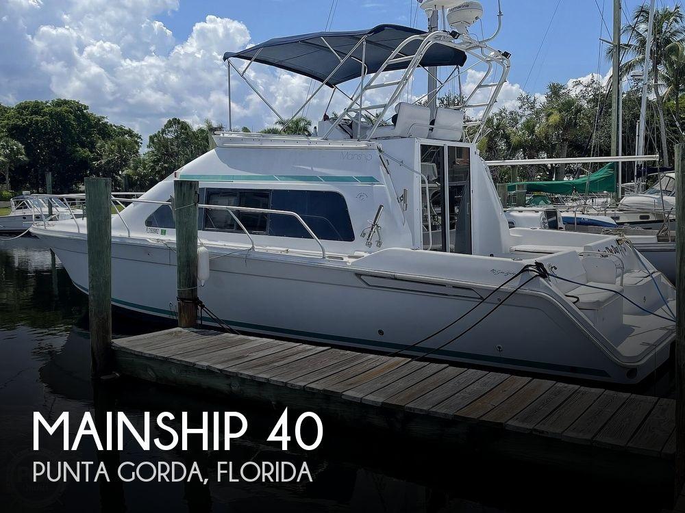 1994 Mainship boat for sale, model of the boat is 40 Sedan Bridge & Image # 1 of 40