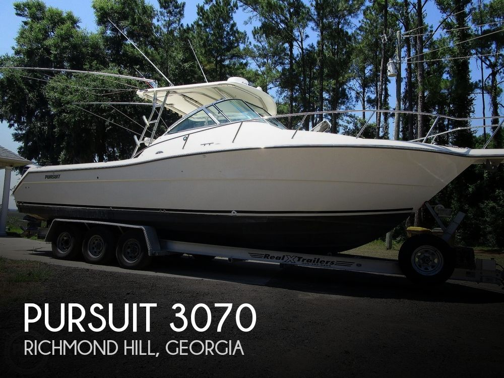 Used Boats For Sale in Georgia by owner | 2001 Pursuit 3070 Offshore