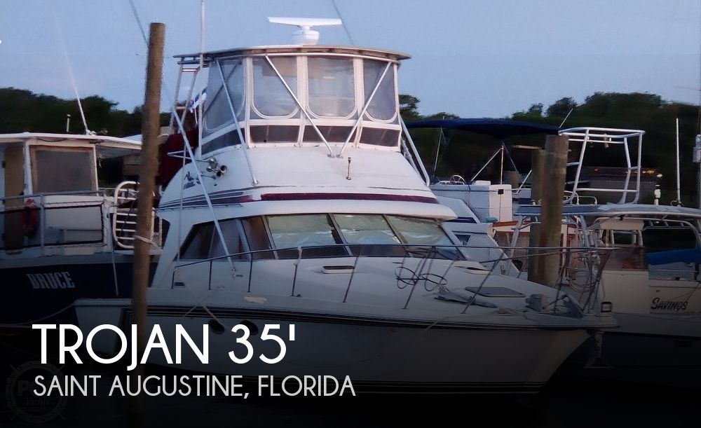 1987 Trojan boat for sale, model of the boat is 10.8-METER CNV & Image # 1 of 40