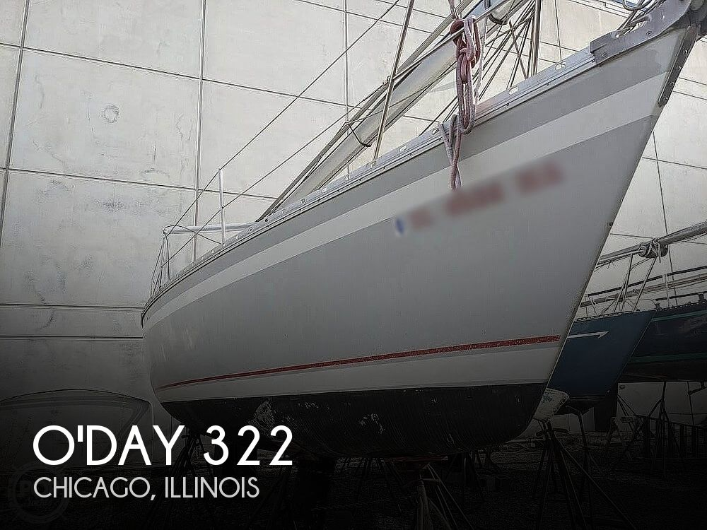 1987 O'day boat for sale, model of the boat is 322 & Image # 1 of 6