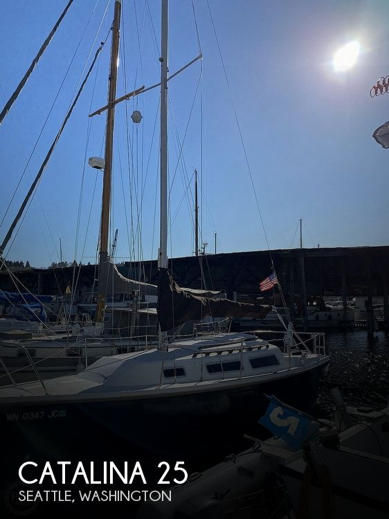 Used Catalina Boats For Sale in Washington by owner | 1983 Catalina 25