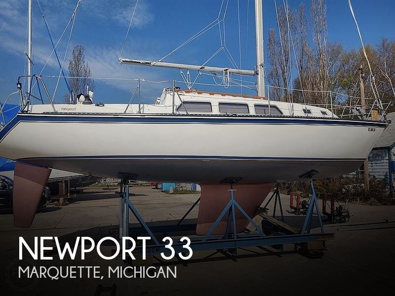 Used Newport Boats For Sale in Michigan by owner   1987 Newport 33