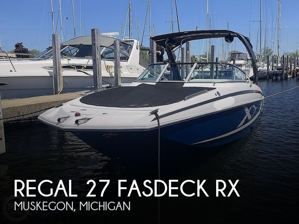 2014 Regal boat for sale, model of the boat is 27 Fasdeck RX & Image # 1 of 40