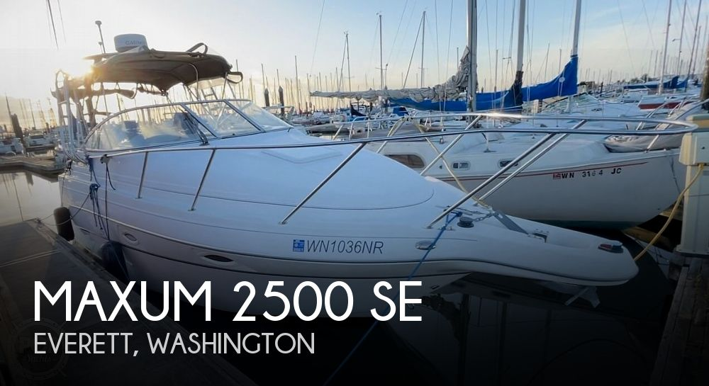 Used Maxum Boats For Sale in Washington by owner | 2004 Maxum 2500 SE