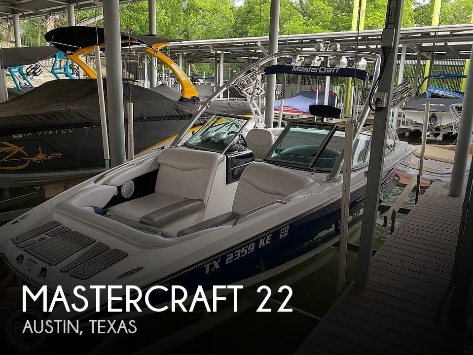 Used Power boats For Sale in San Antonio, Texas by owner | 2005 Mastercraft 22 X-Star