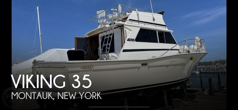 1980 Viking boat for sale, model of the boat is 35 Convertible & Image # 1 of 1