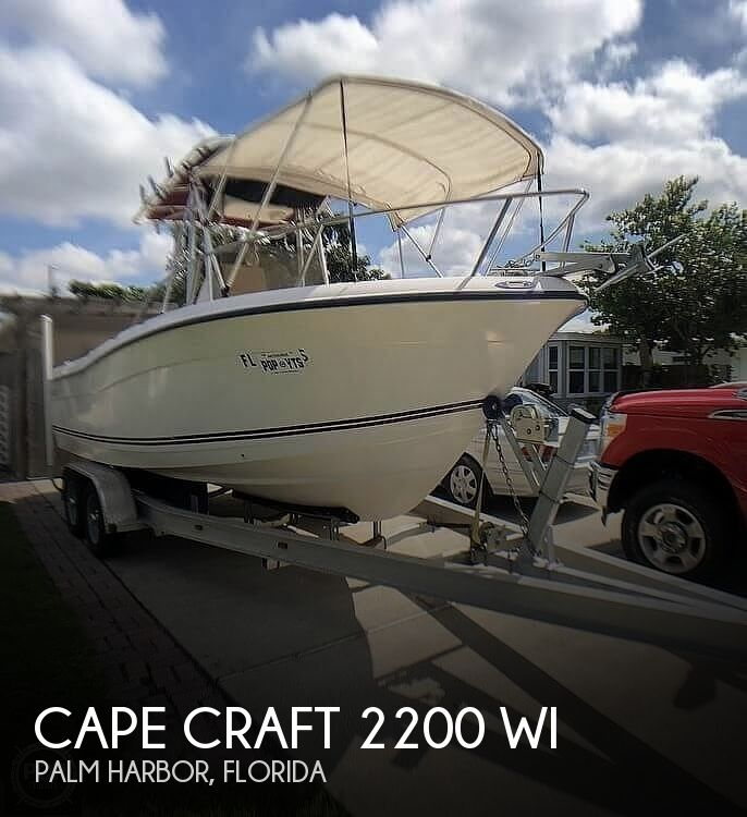 2005 Cape Craft boat for sale, model of the boat is 2200 WI & Image # 1 of 40