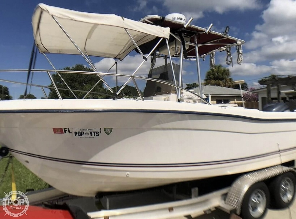 2005 Cape Craft boat for sale, model of the boat is 2200 WI & Image # 36 of 40