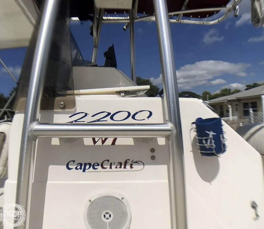2005 Cape Craft boat for sale, model of the boat is 2200 WI & Image # 37 of 40