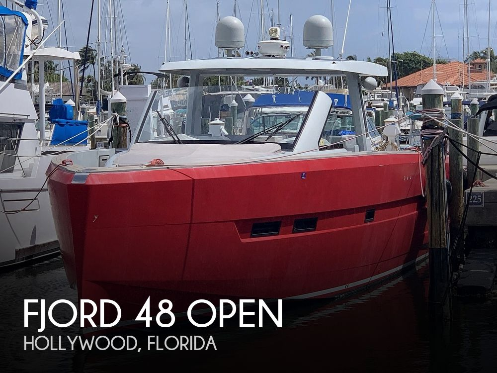 Used Boats For Sale in Florida by owner | 2015 Fjord 48 Open