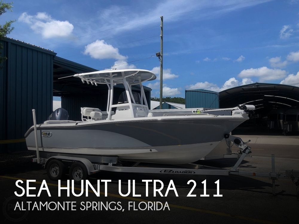 2018 Sea Hunt boat for sale, model of the boat is Ultra 211 & Image # 1 of 40