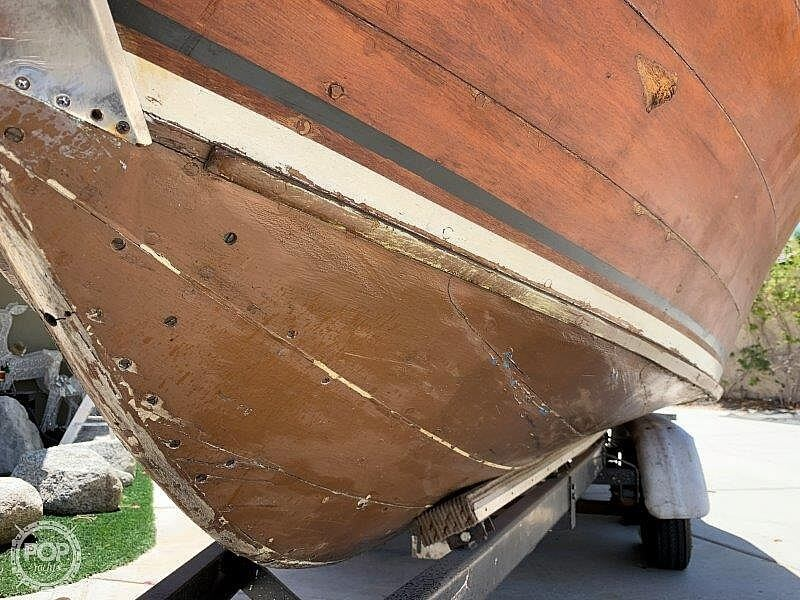 1966 Century boat for sale, model of the boat is Sabre 18 Gull Wing Hardtop & Image # 25 of 40