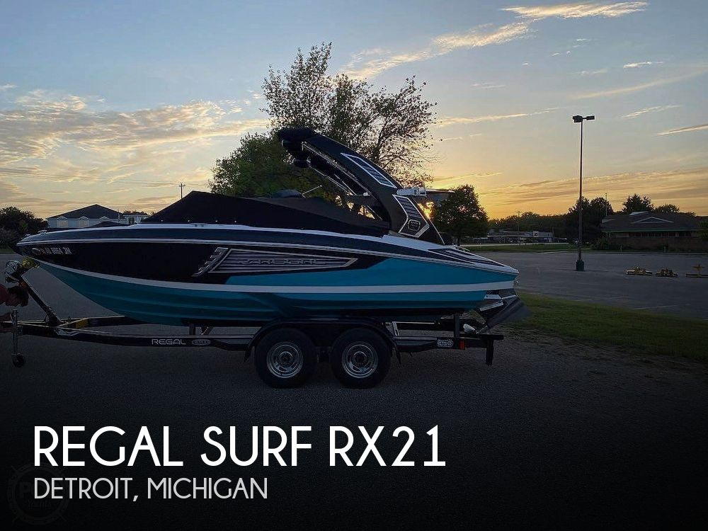 Used Ski Boats For Sale in Michigan by owner | 2019 Regal Surf RX21