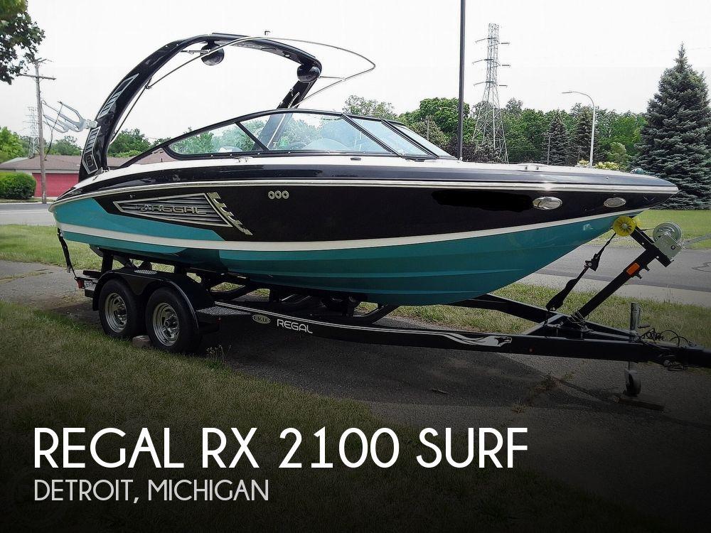 2019 REGAL RX 2100 SURF for sale