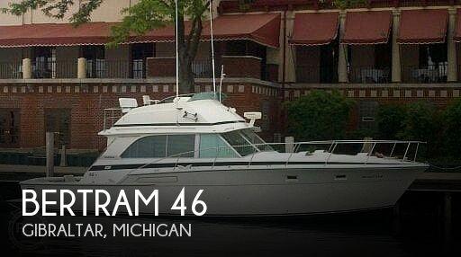Used BERTRAM Boats For Sale in Michigan by owner | 1975 Bertram 46