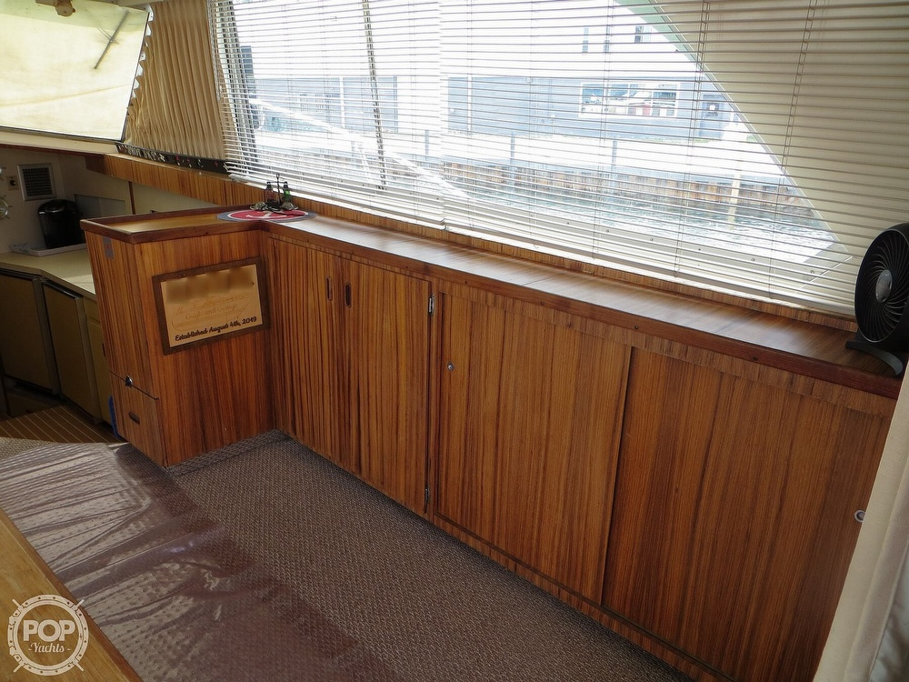 1975 Bertram boat for sale, model of the boat is 46 Convertible & Image # 17 of 40