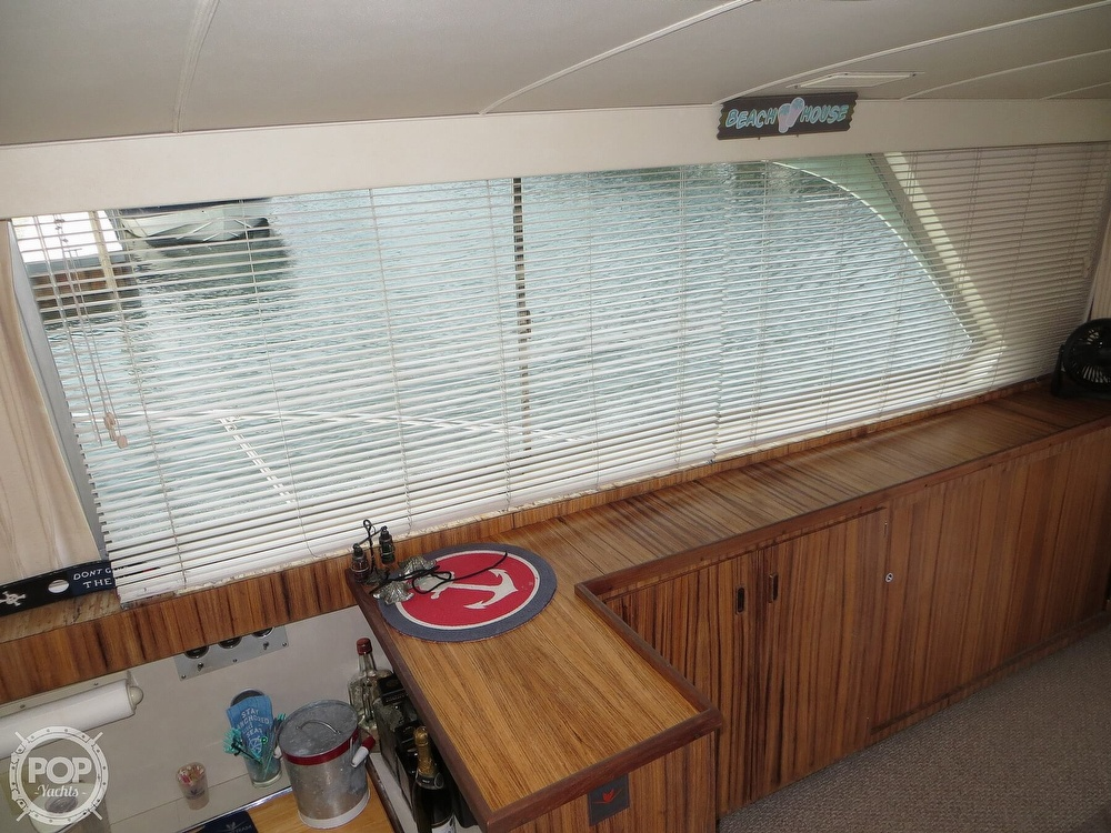1975 Bertram boat for sale, model of the boat is 46 Convertible & Image # 22 of 40