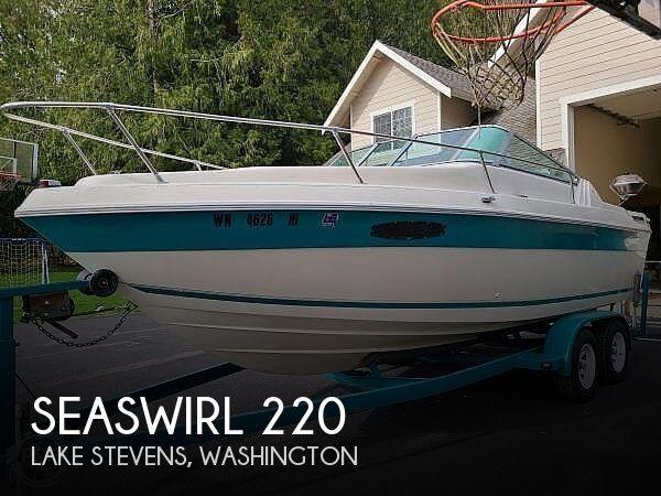Used SEASWIRL Boats For Sale in Seattle, Washington by owner | 1991 Seaswirl 220