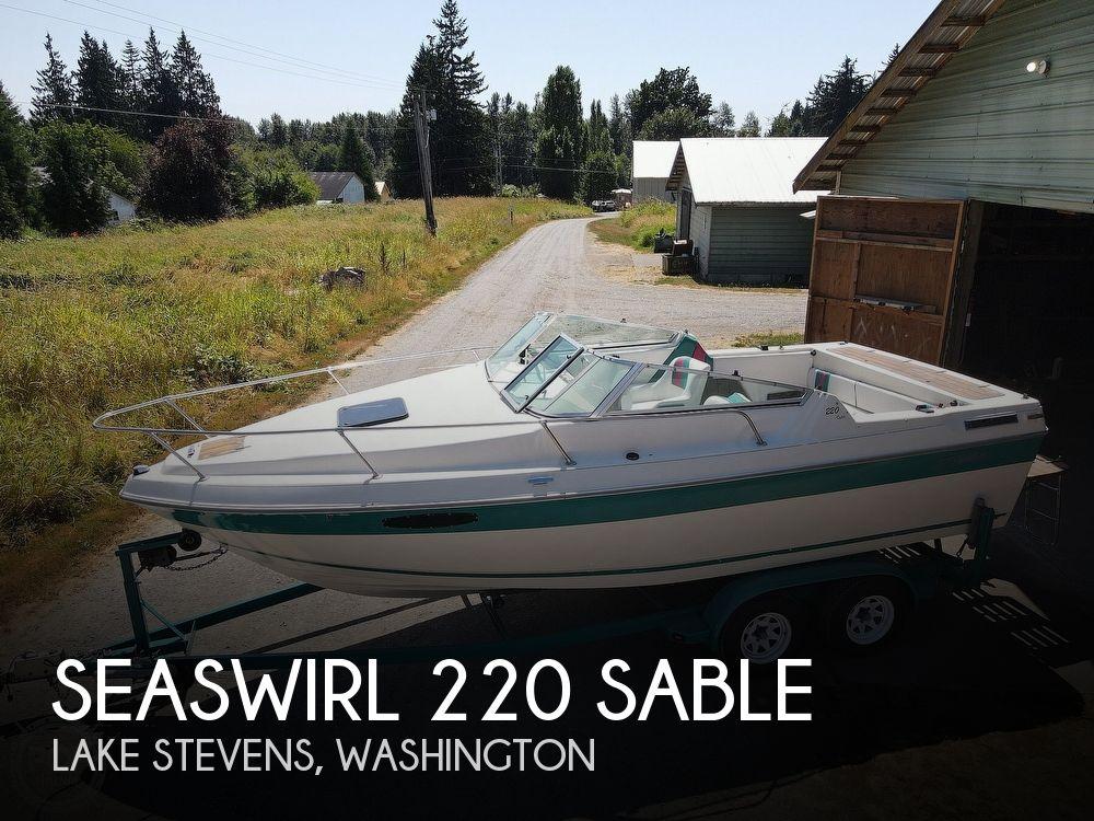 1991 SEASWIRL 220 SABLE for sale