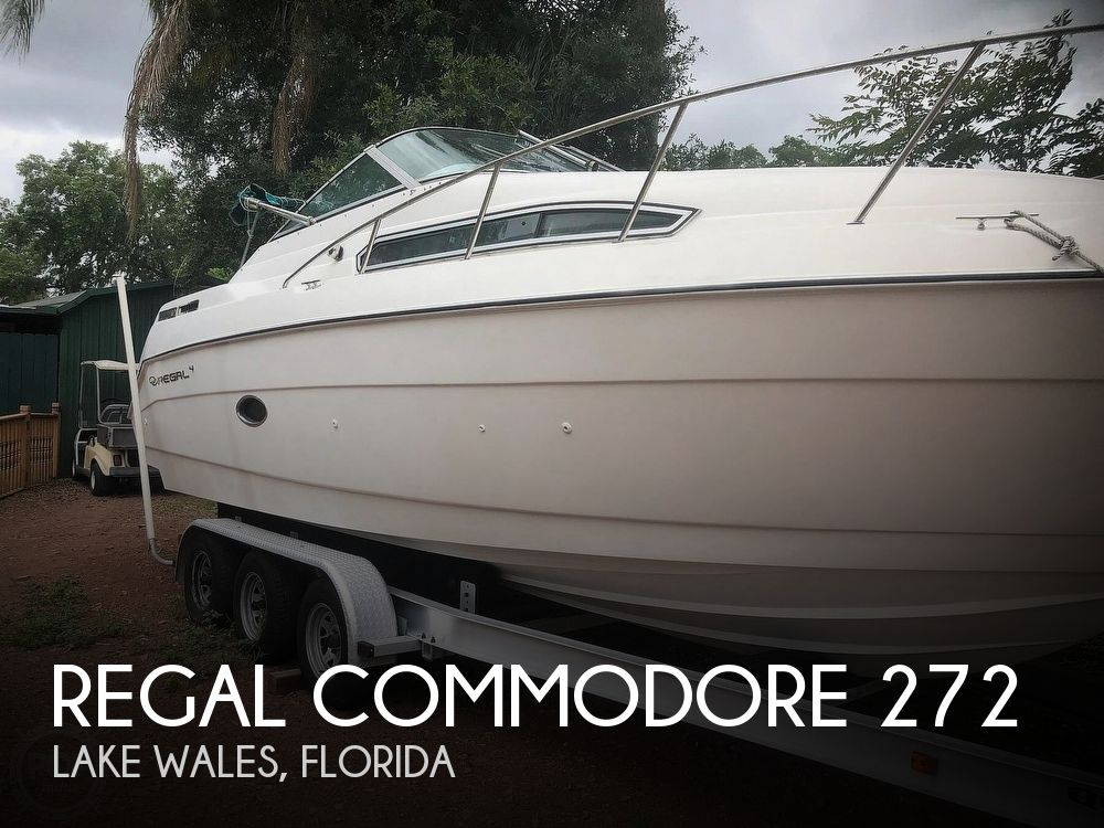 1994 Regal boat for sale, model of the boat is Commodore 272 & Image # 1 of 40