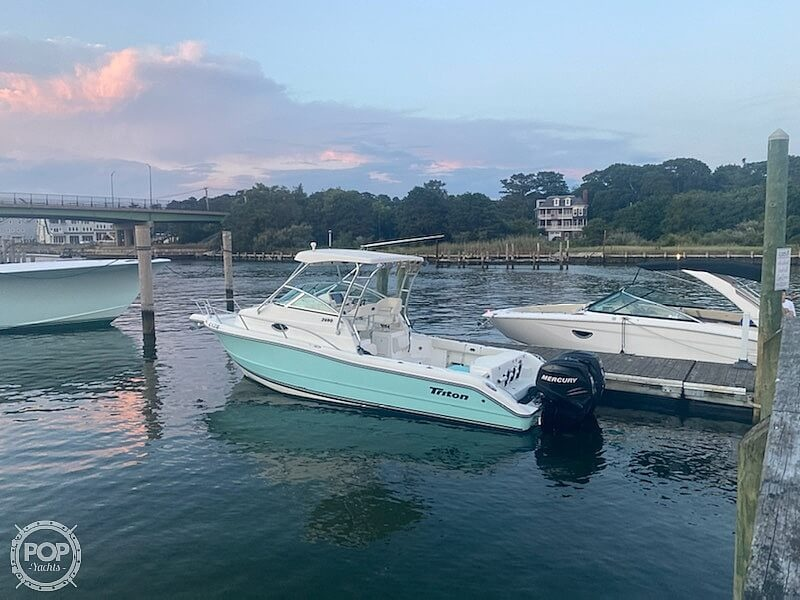 2006 Triton boat for sale, model of the boat is 2690 WA & Image # 4 of 40