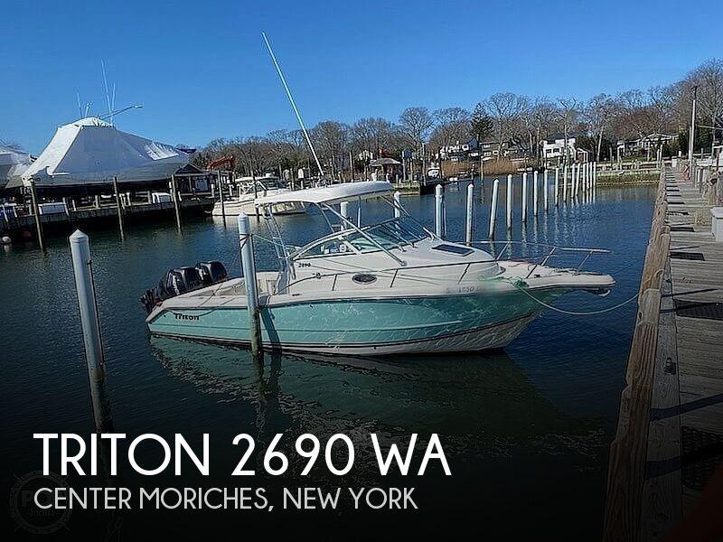 2006 TRITON 2690 WA for sale