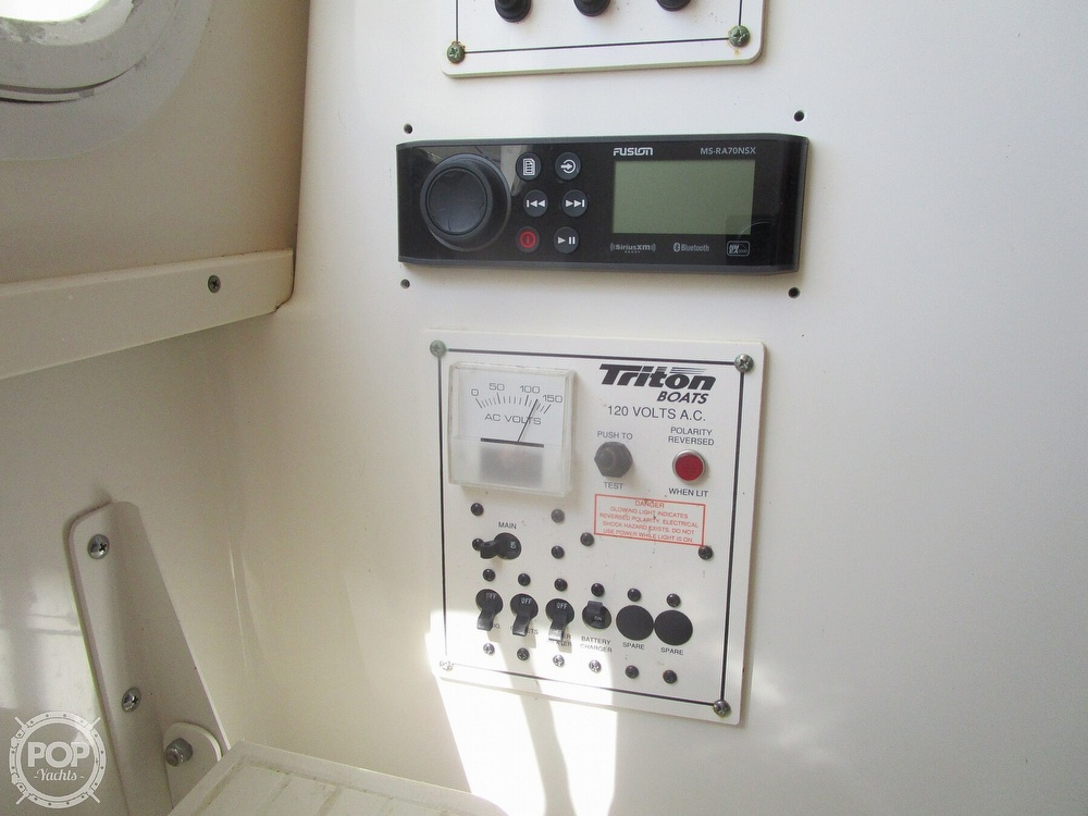 2006 Triton boat for sale, model of the boat is 2690 WA & Image # 33 of 40