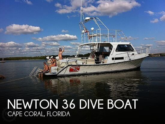 2011 Newton 36 Dive Boat - Photo #1