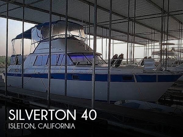 1984 SILVERTON 40 AFT CABIN for sale
