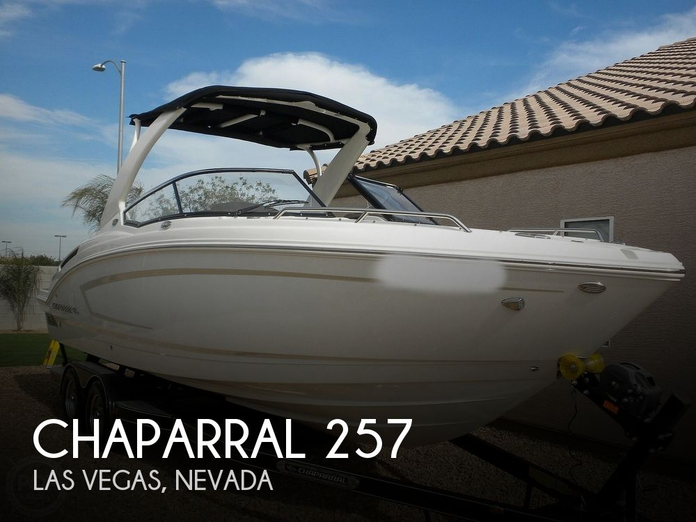 2015 Chaparral boat for sale, model of the boat is 257 SSX 50th Anniversary Edition & Image # 1 of 40