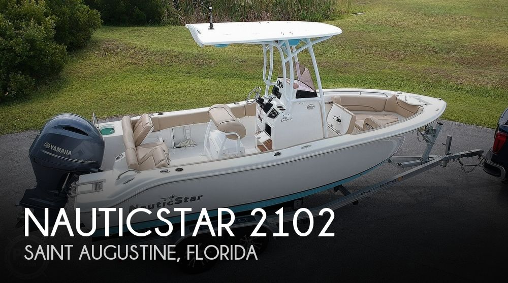2019 Nautic Star boat for sale, model of the boat is Legacy 2102 & Image # 1 of 40