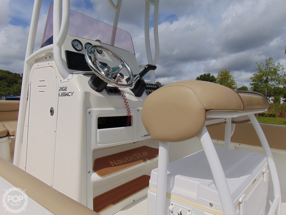 2019 Nautic Star boat for sale, model of the boat is Legacy 2102 & Image # 38 of 40