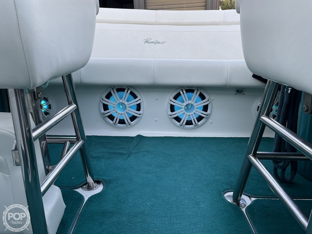 1999 Powerquest boat for sale, model of the boat is 260 Legend SX & Image # 14 of 40