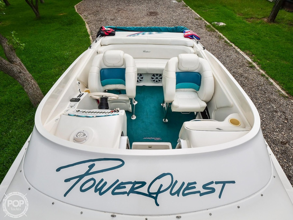 1999 Powerquest boat for sale, model of the boat is 260 Legend SX & Image # 2 of 40