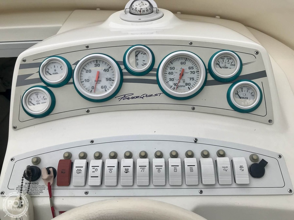 1999 Powerquest boat for sale, model of the boat is 260 Legend SX & Image # 12 of 40