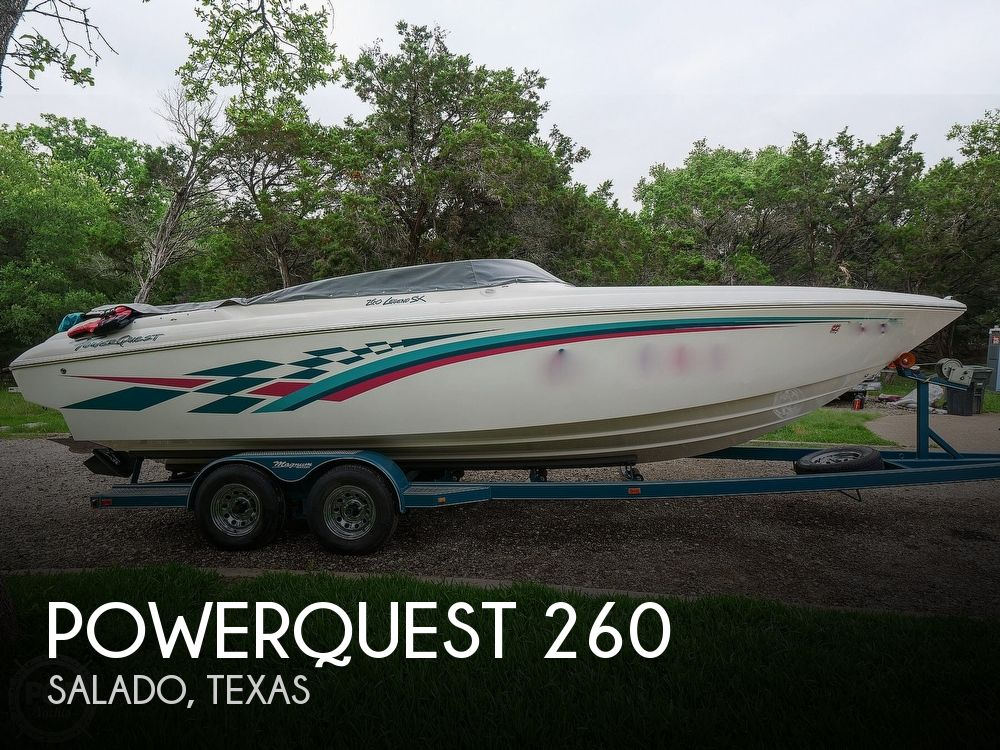 1999 Powerquest boat for sale, model of the boat is 260 Legend SX & Image # 1 of 40
