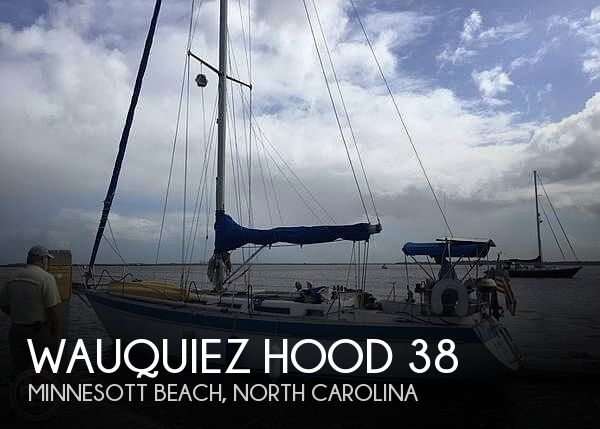 1984 Wauquiez boat for sale, model of the boat is Hood 38 & Image # 1 of 40