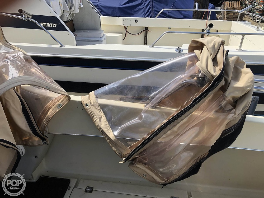 1983 Skipjack boat for sale, model of the boat is 25 & Image # 19 of 29