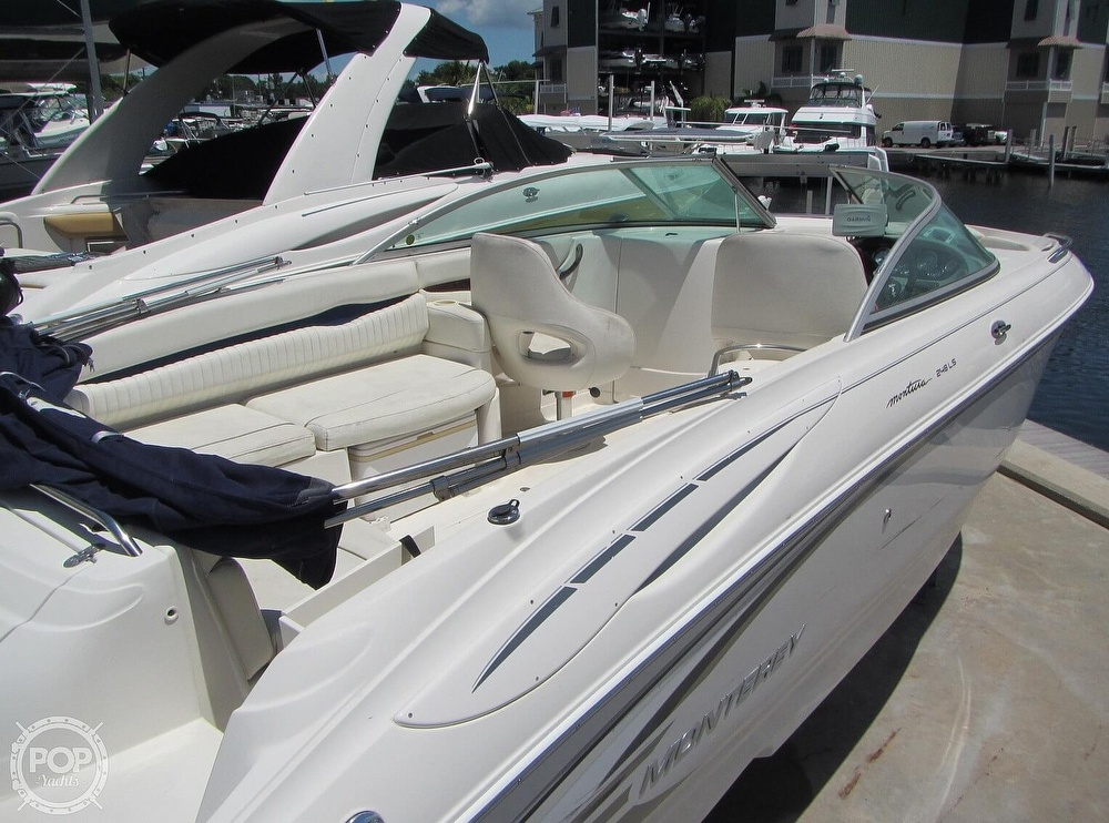 2005 Monterey boat for sale, model of the boat is 248LS Montura & Image # 21 of 40