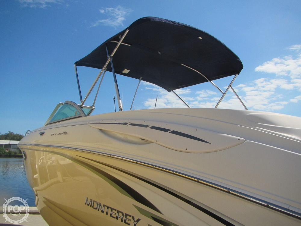 2005 Monterey boat for sale, model of the boat is 248LS Montura & Image # 11 of 40