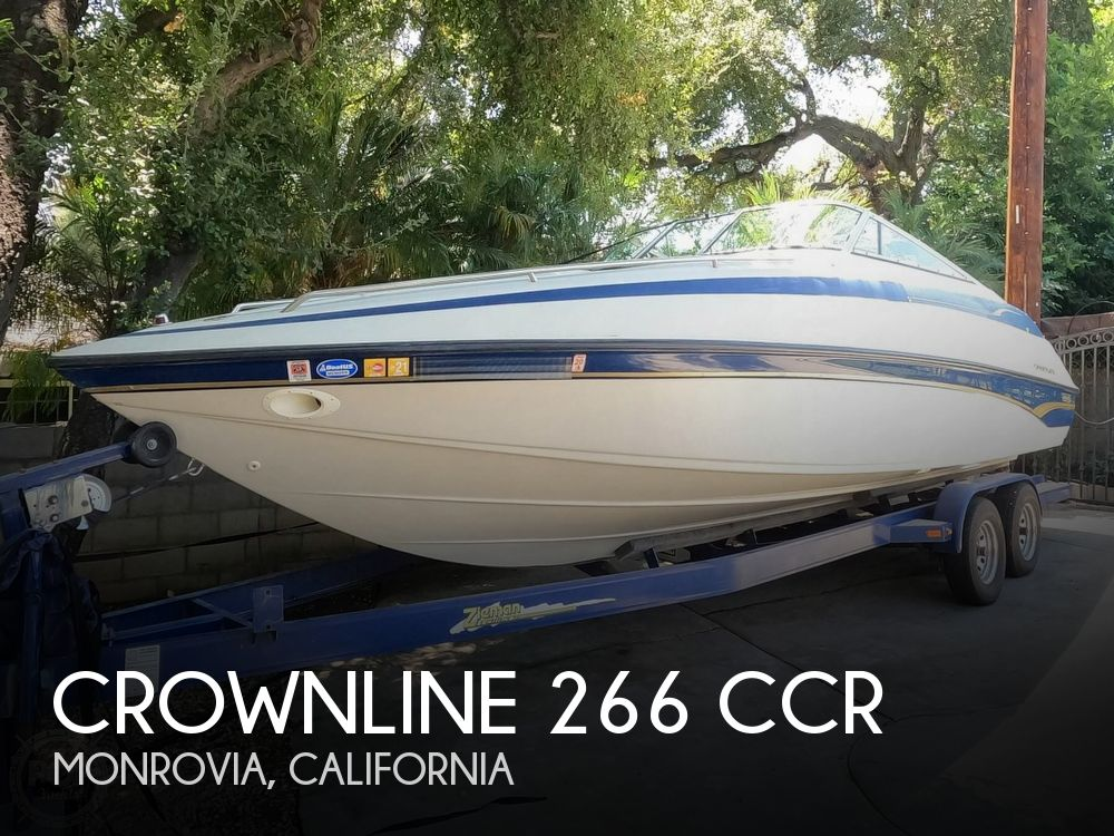 1997 Crownline boat for sale, model of the boat is 266 CCR & Image # 1 of 40