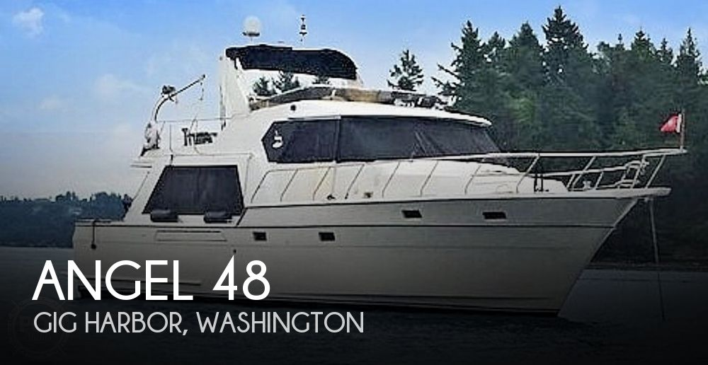 Used Motoryachts For Sale in Washington by owner | 1989 Angel 48