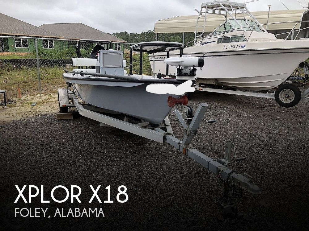 2018 Xplor boat for sale, model of the boat is X18 & Image # 1 of 40