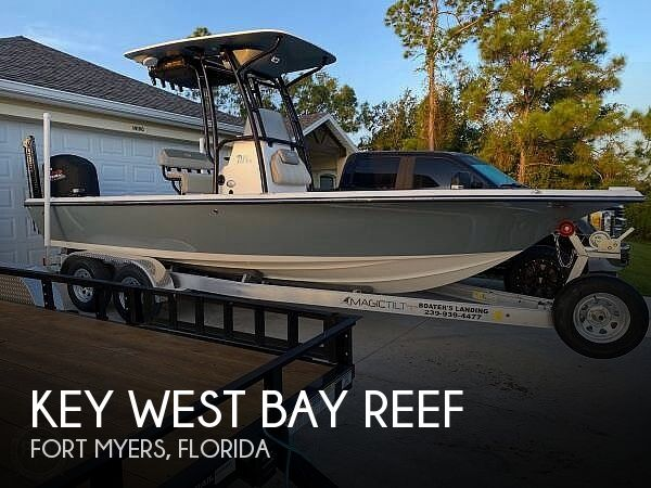 Used Key West Boats For Sale by owner | 2021 23 foot Key West Bay Reef