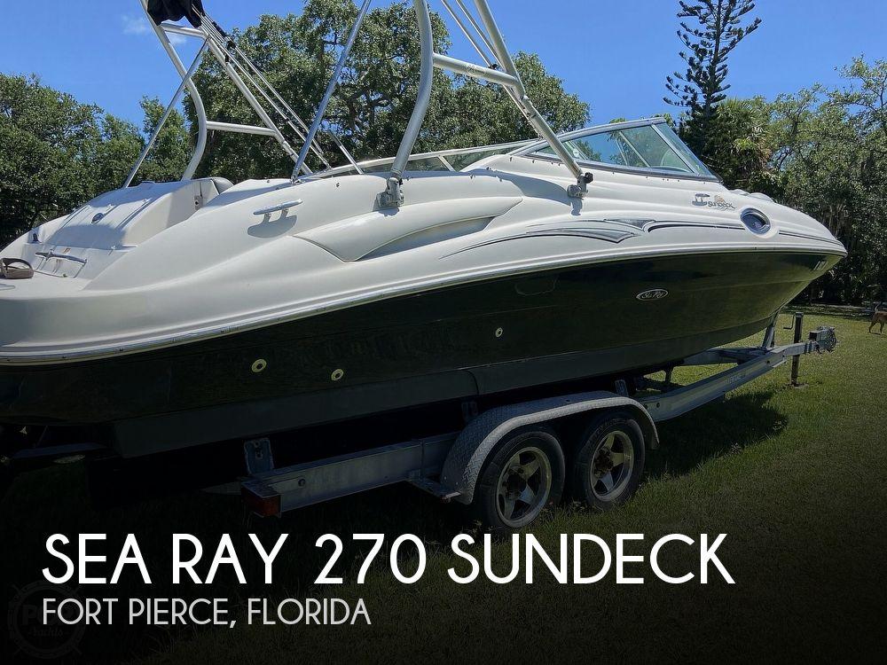 2006 SEA RAY 270 SUNDECK for sale